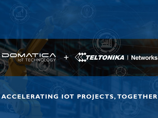 DOMATICA PARTNERS WITH TELTONIKA NETWORKS