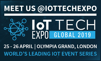 Join us at IoT Tech Expo Global 2019, in London, 25-26 April