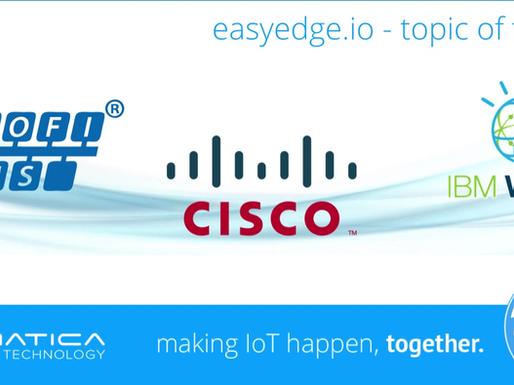 Topic of the day: PROFIBUS + CISCO IOx829 + IBM WATSON