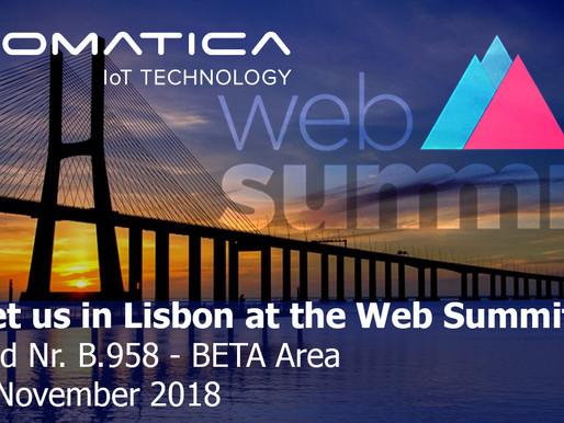 Meet us at Web Summit 2018