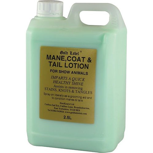 Gold Label Mane, Tail & Coat Lotion