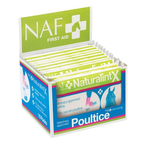 Naf Naturalintx Poultice 10 Pack