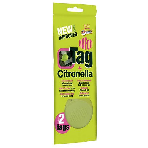 Naf Off Citronella Tag Twin Pack