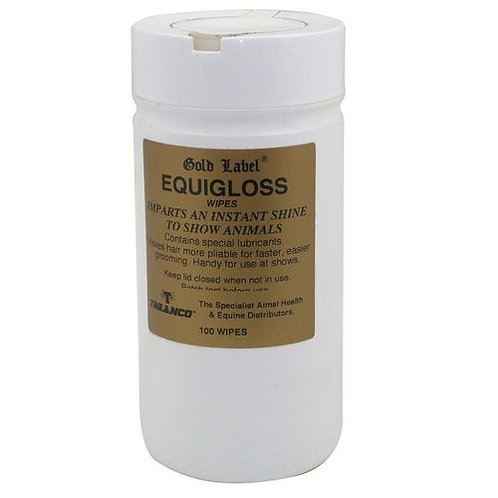 Gold Label Equigloss Wipes
