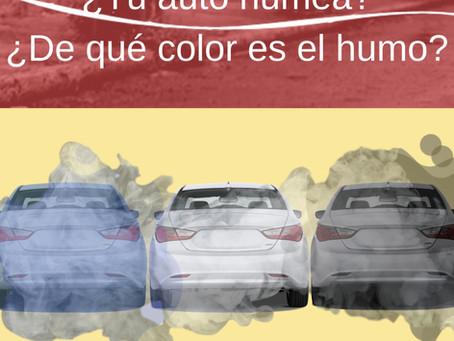 Asesoría: ¿Tu auto humea? Según el color del humo podemos determinar la posible falla.