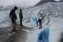 הליכה על קרחונים