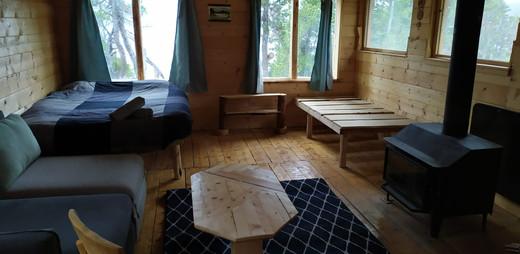 Roberta's cabin