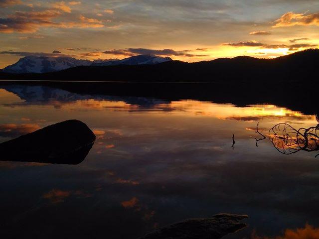 Sunset at Nuk Tessli