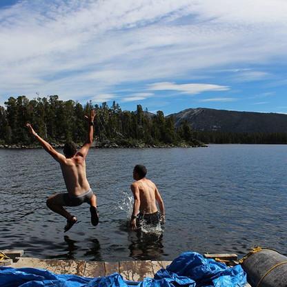 Jumping into the nuk tessli lake.jpg