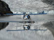נחיתה באגם הקרחונים