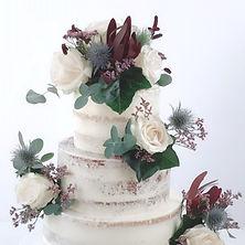 fresh flower wedding cake 1 KMcakesEindh