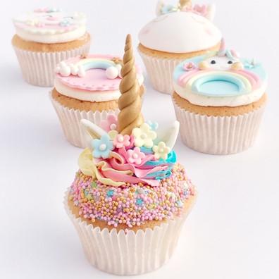 Unicorn cupcake workshop - KMcakesEinsho