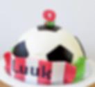 football birthday cake voetbal PSV cake PSV taart
