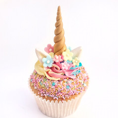 Unicorn cupcake workshop - KMcakesEindho