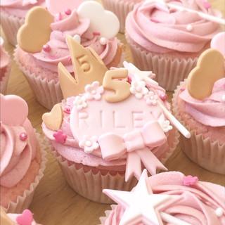 vegan princess cupcakes KMcakesEindhoven