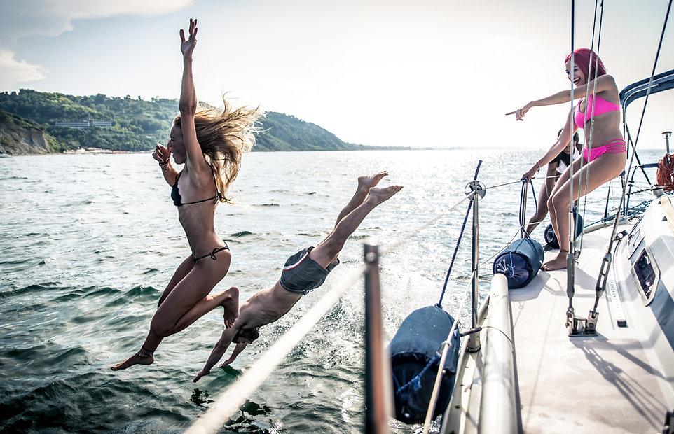 Fun sailing holiday