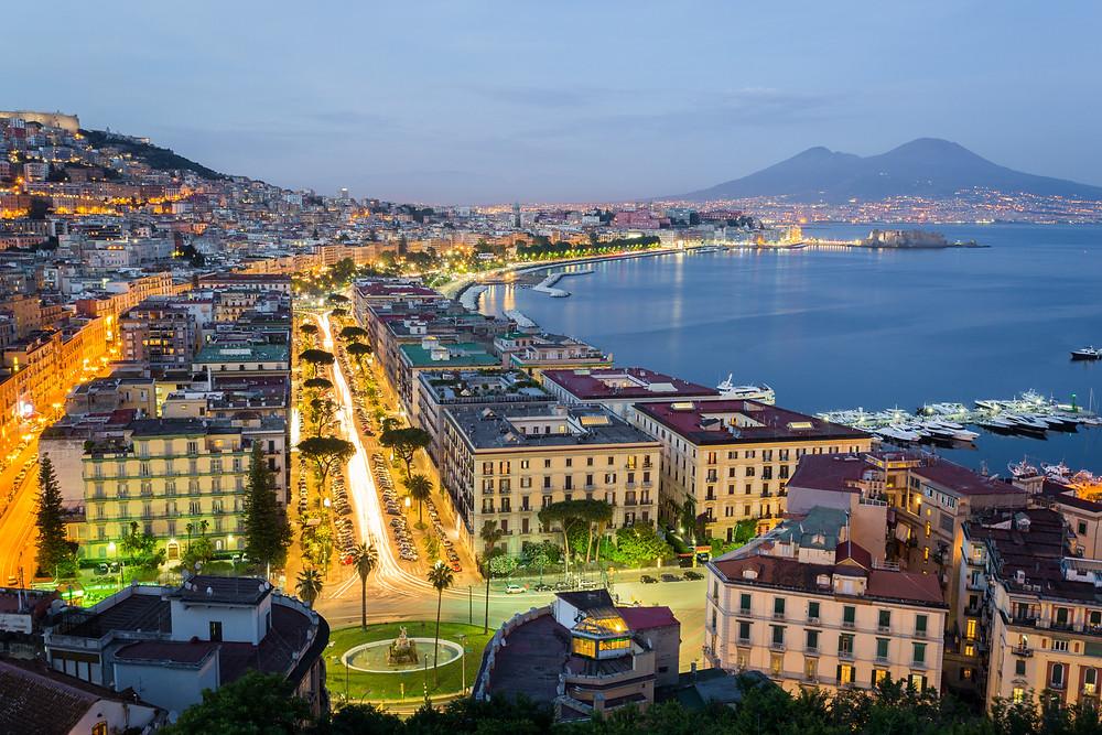 Naples Italy, Campania, sailing holidays, yacht charter
