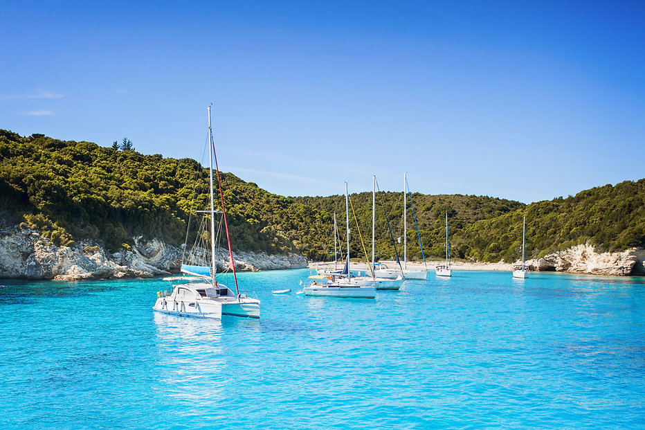 bareboat yacht charter, sailing holiday