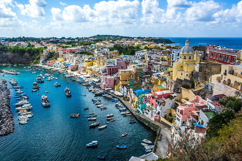 Procida, Naples, Campania, sailing holidays, yacht charter