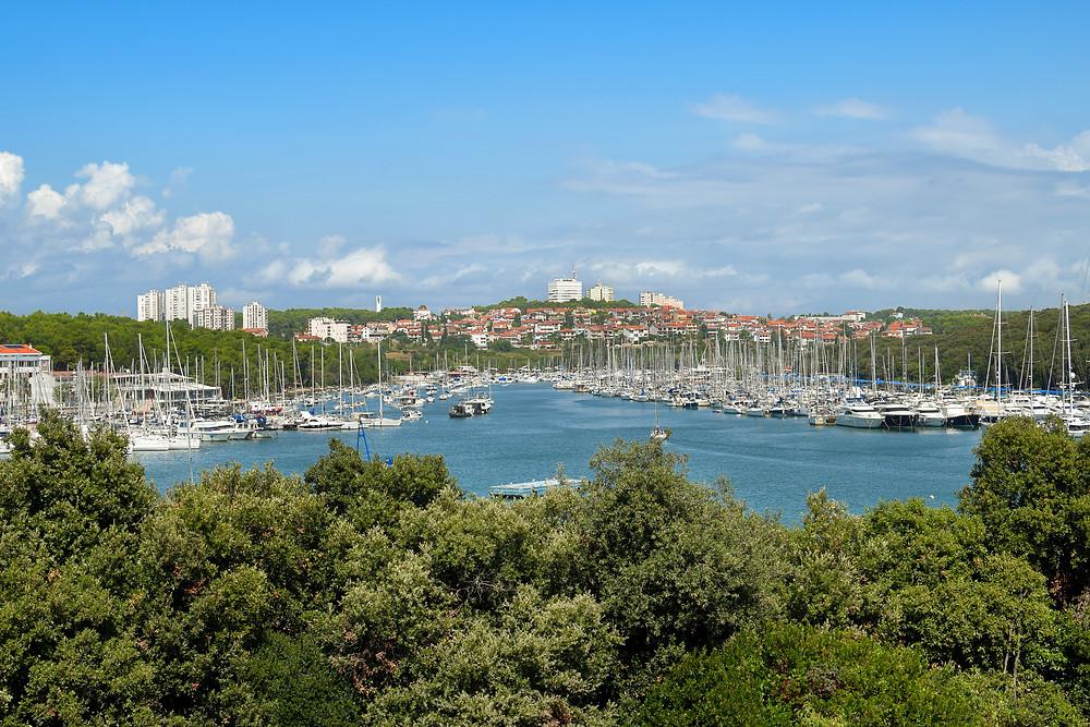 marina veruda, pula, sailing croatia
