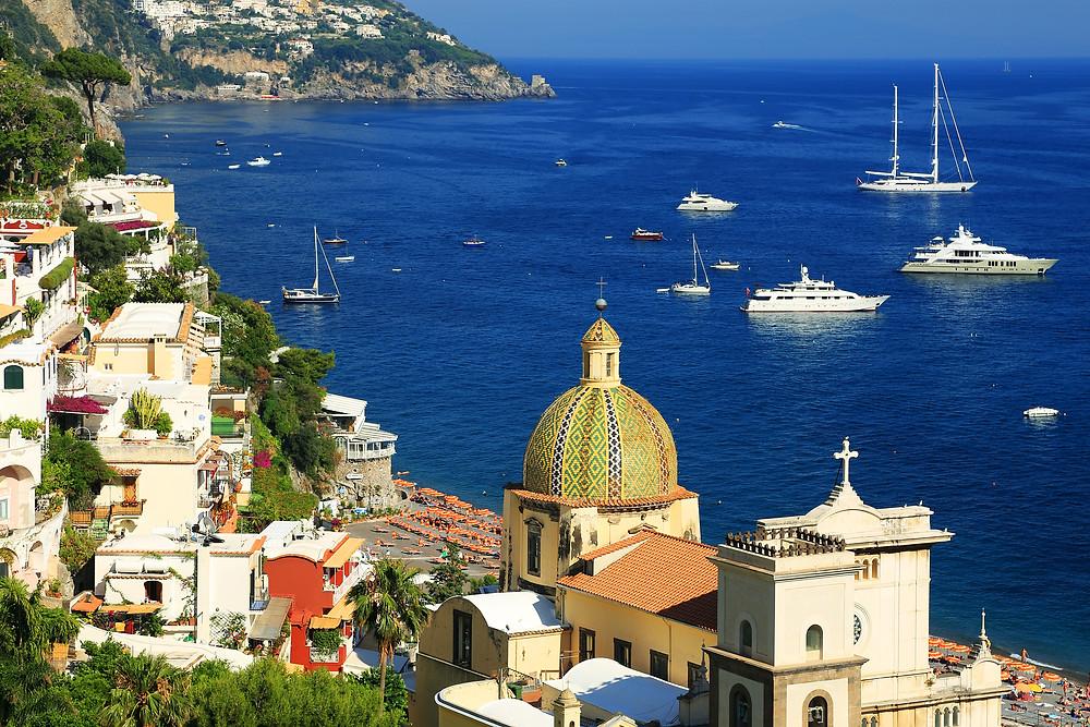Amalfi coast italy sailing holidays yacht charter