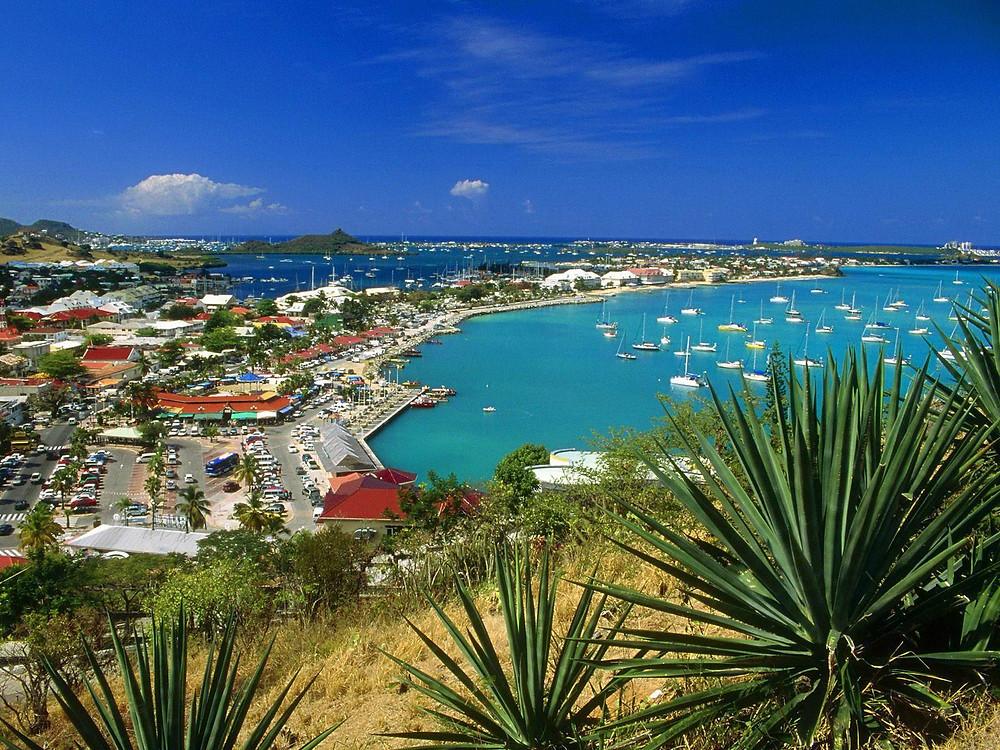 Marigot, St. Martin, yacht charter, caribbean charter, catamaran charter, sailing vacation