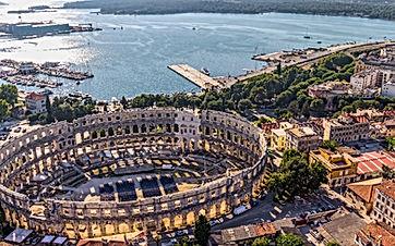Pula sailing holidays, yacht charter, bareboat charter, Croatia