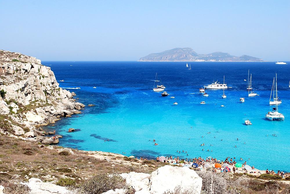 favignana, sicily, sailing holiday, yacht charter