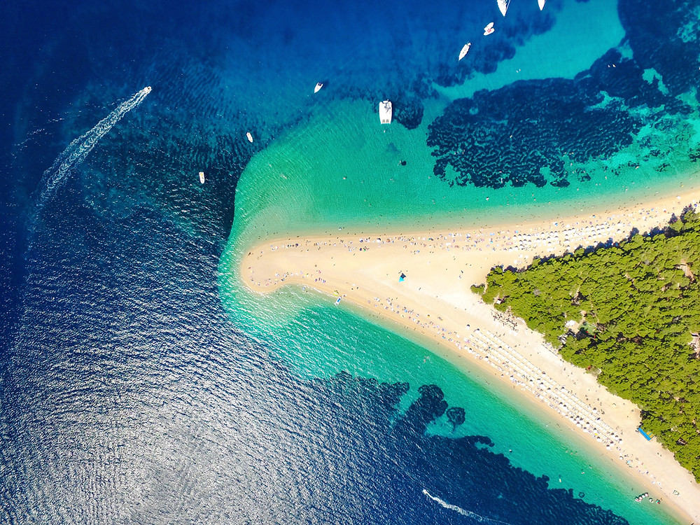 Zlatni Rat, Croatia, sailing holiday, yacht charter