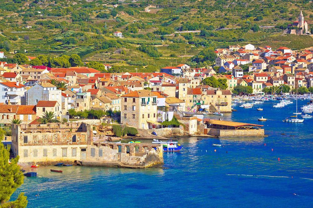 Blue cave Bisevo, Komiza, sailing Croatia, yacht charter, sailing holiday