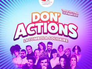 Don' Actions, la tombola solidaire est lancée !
