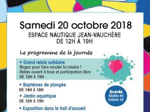Journée Mondiale du Refus de la Misère Samedi 20 octobre à l'espace nautique de Colomiers