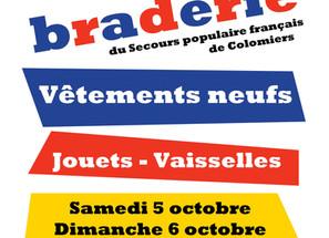 Grande Braderie Solidaire de Lasserre-Pradere - 5 et 6 octobre 2019