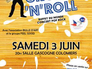 Soirée Crock'n'Roll - Samedi 3 juin à Colomiers