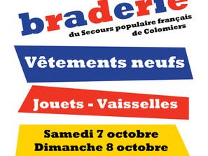 Braderie Solidaire de Lasserre 6-7 octobre