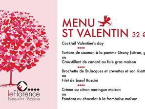 Saint-Valentin Solidaire au Restaurant Le Florence