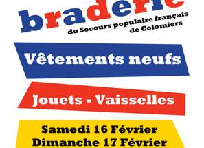 Grande Braderie Solidaire de Lasserre-Pradere - 16 et 17 février 2019