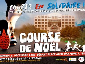 Course de Noël - Courez en Solidaire !