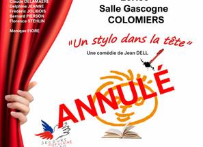 Théâtre Solidaire Samedi 14 mars à La Salle Gascogne