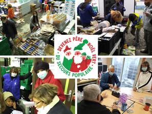 Les Pères Noël Verts se mobilisent pour préparer le marché de Noël !