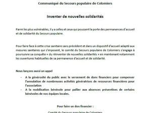 Communiqué du SPF de Colomiers