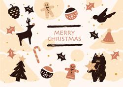 BW-049  聖誕卡B