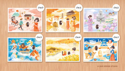 肥貓套組第六組 / 日本小旅遊系列