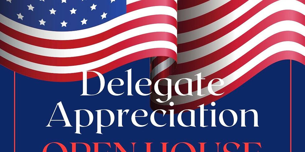 Precinct Delegate Appreciation Open House