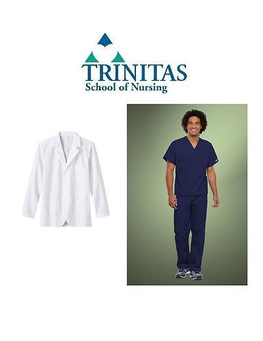 Trinitas Nursing Male Student Package (Regular Sizing)