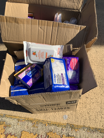 Donated products