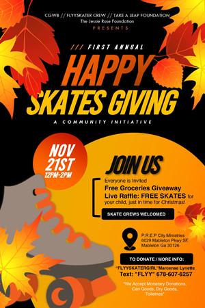 Partner for Skatesgiving