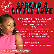 Spread a little love service project (2)