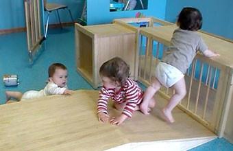 A conquista do movimento gera confiança para o bebê em desenvolvimento