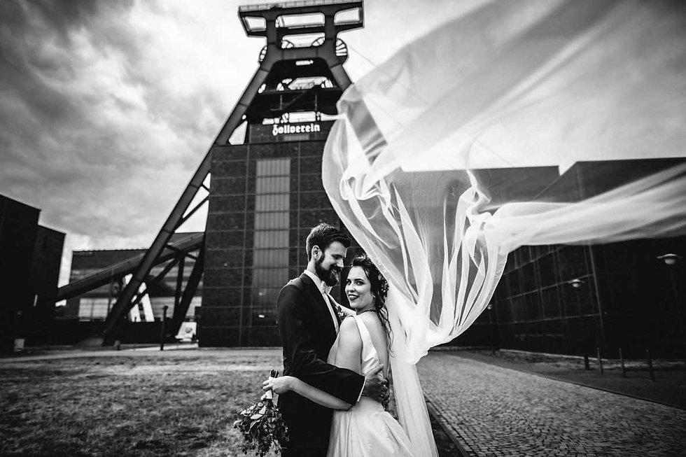 Hochzeitsfotograf Eventzeche Zollverein